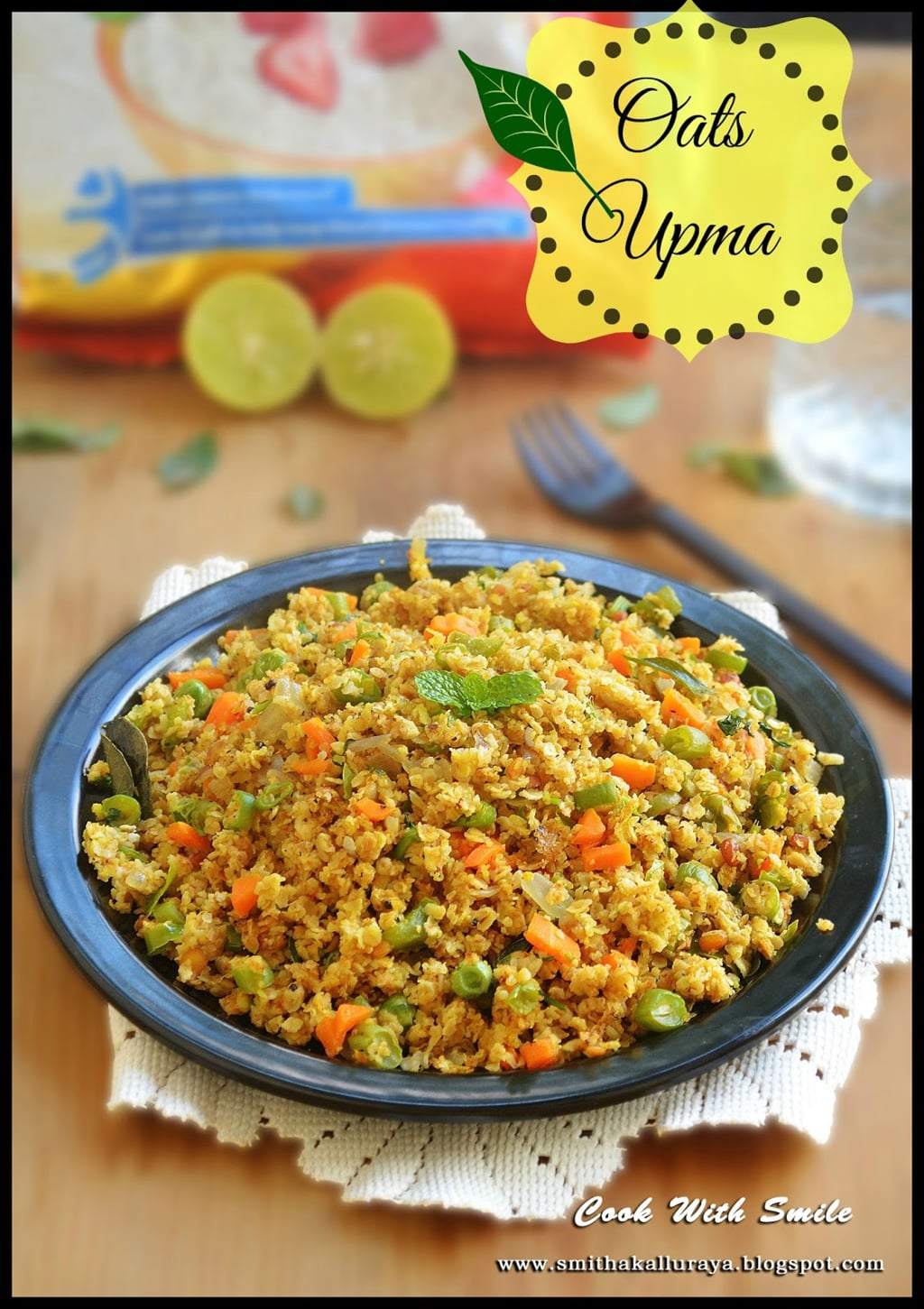 INSTANT VEGETABLE OATS UPMA
