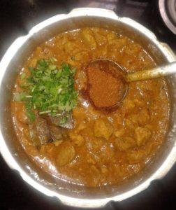 make soya chunks curry