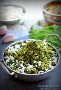 dill leaves stir fry