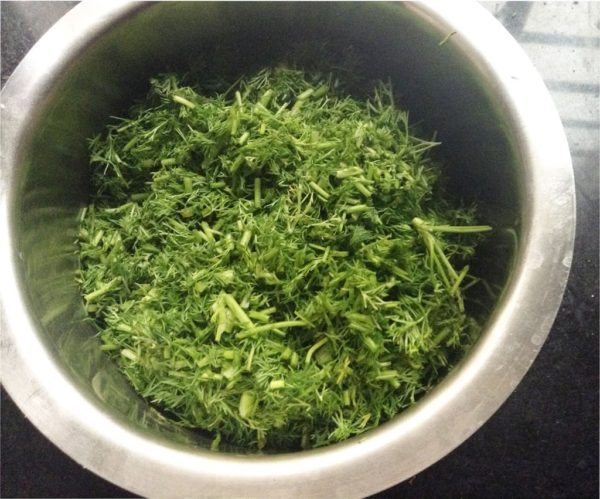 how to do dil leaves rasam