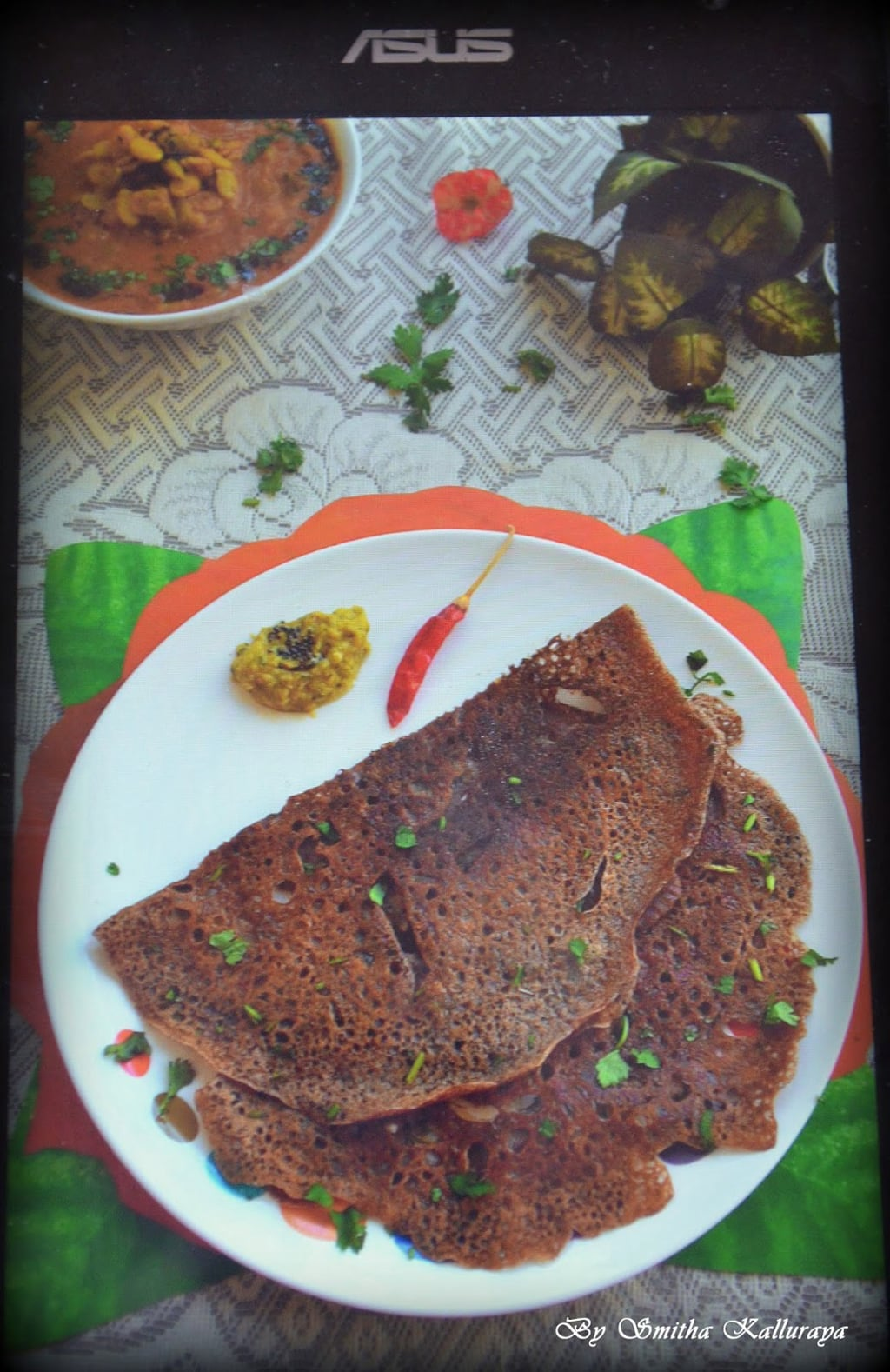 how to do INSTANT RAGI DOSA RECIPE