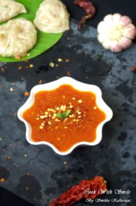 CHILLI GARLIC SAUCE recipe FOR MOMOS
