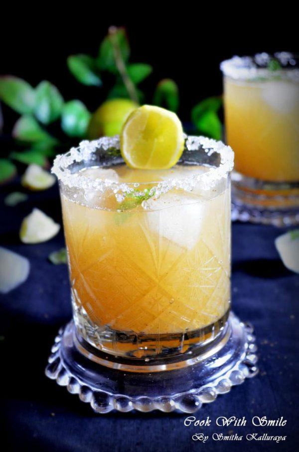 raw mango juice