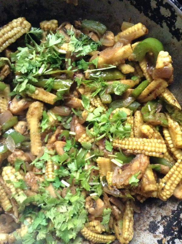 Baby Corn Pepper Fry recipe