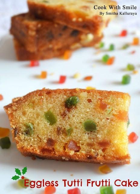Eggless Cake Batter Recipe