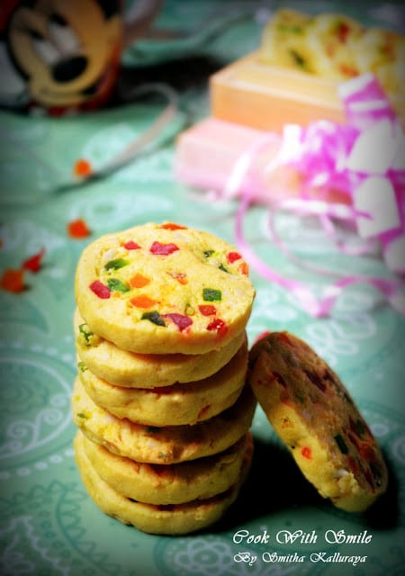 eggless fruit cookies