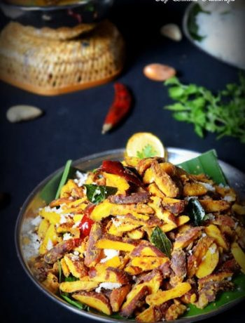 jack fruit seeds stir fry recipe