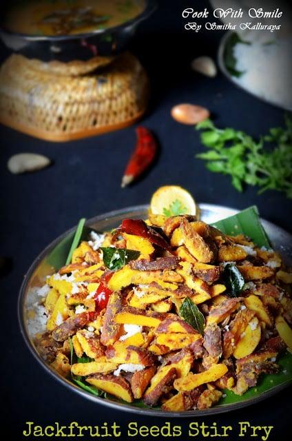jack fruit seeds stir fry recipe