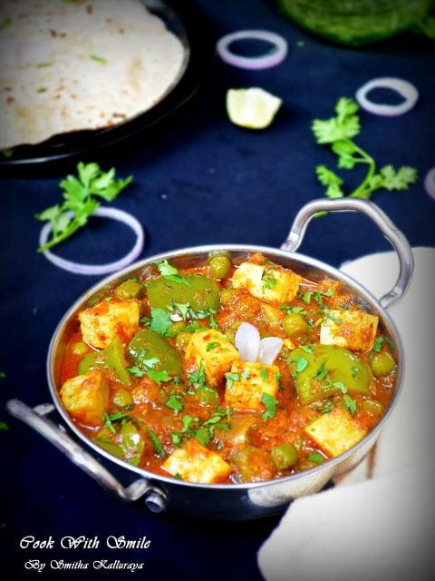 cook Kadai Paneer