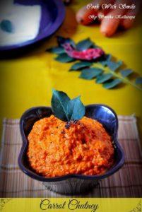 recipe for carrot chutney