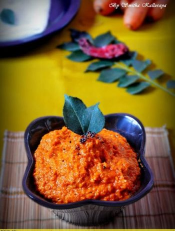 recipe for carrot chutney