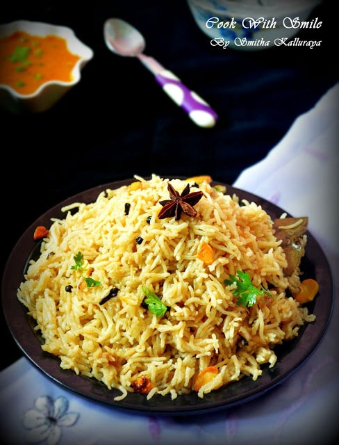 ghee rice kurma