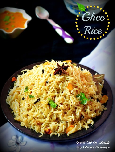 ghee rice kurma recipe