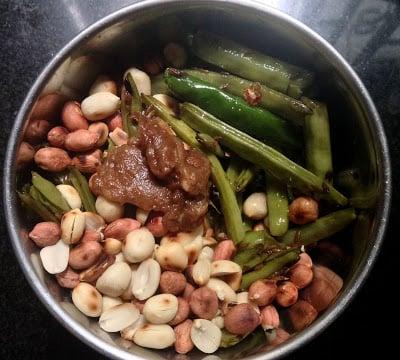 gorikayi chutney