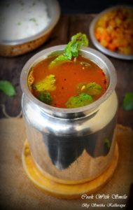 recipe for mint rasam