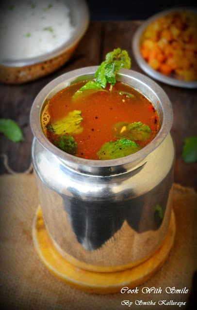 recipe for mint rasam