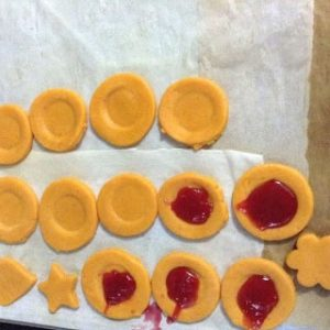 how to do Eggless thumbprint cookies for beginners