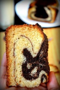 yummy CHOCOLATE VANILLA EGGLESS CAKE