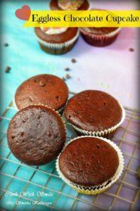 eggless chocolate cup cake recipe