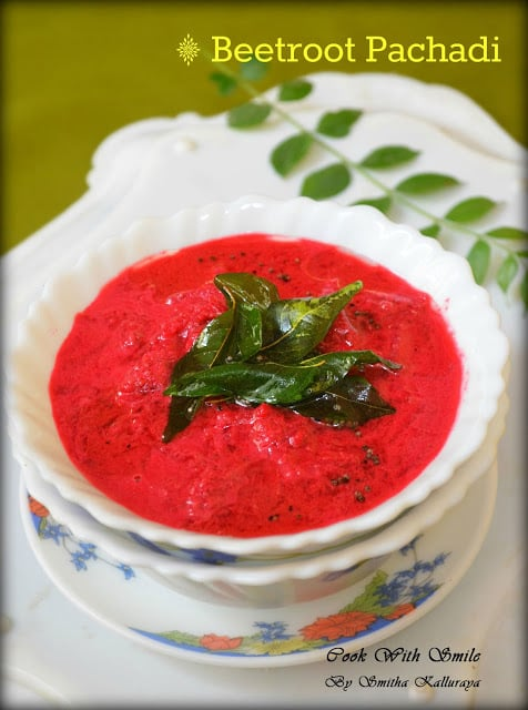 make beetroot pachadi