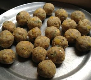 make cheese corn balls