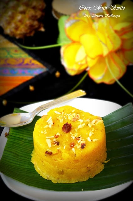 pineapple kesaribath recipe