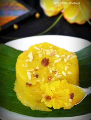 easy recipe for pineappl kesaribath