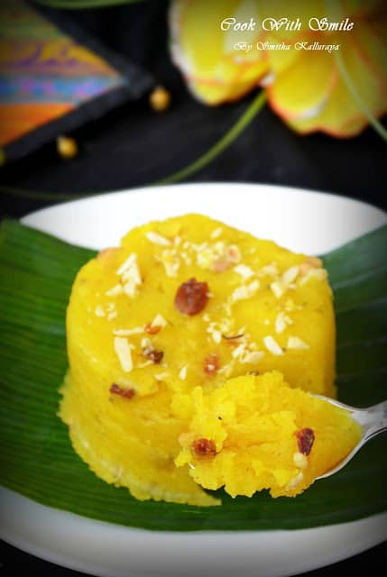 easy recipe for pineappl kesaribath