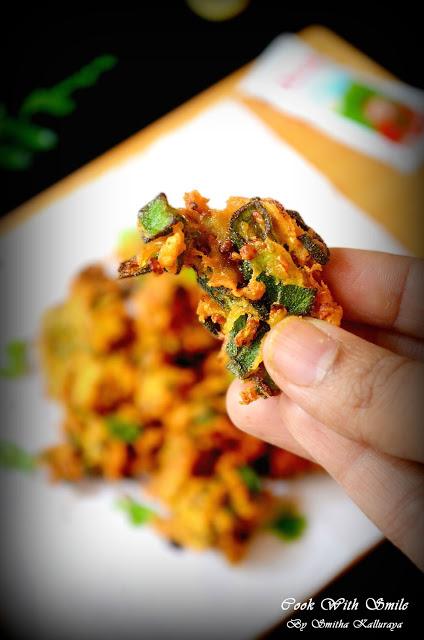 bhindi pakoda