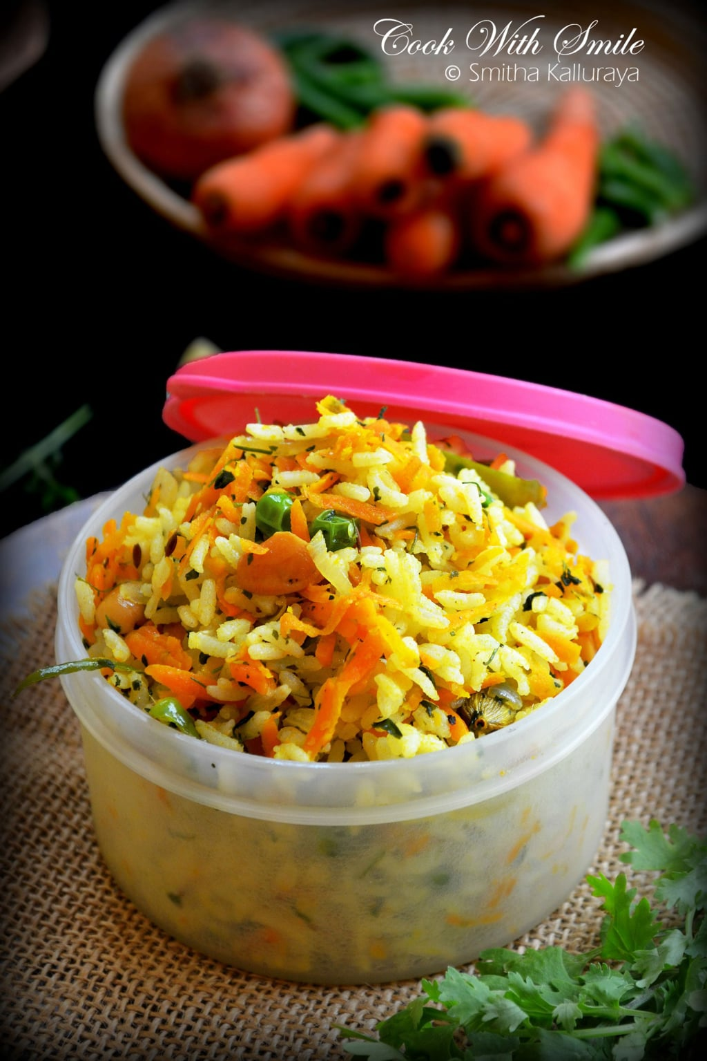 methi carrot rice recipe