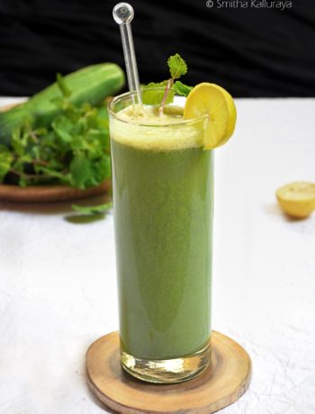 cucumber mint cooler