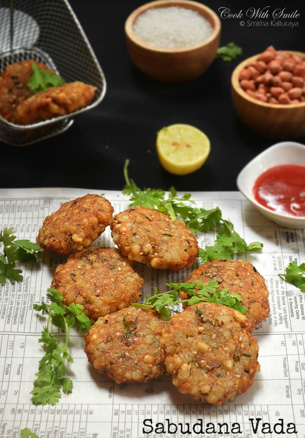 step by step recipe for sabudana vada