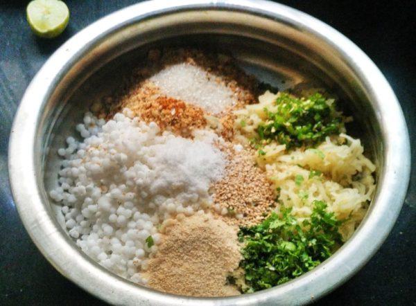 how to make sabakki vada