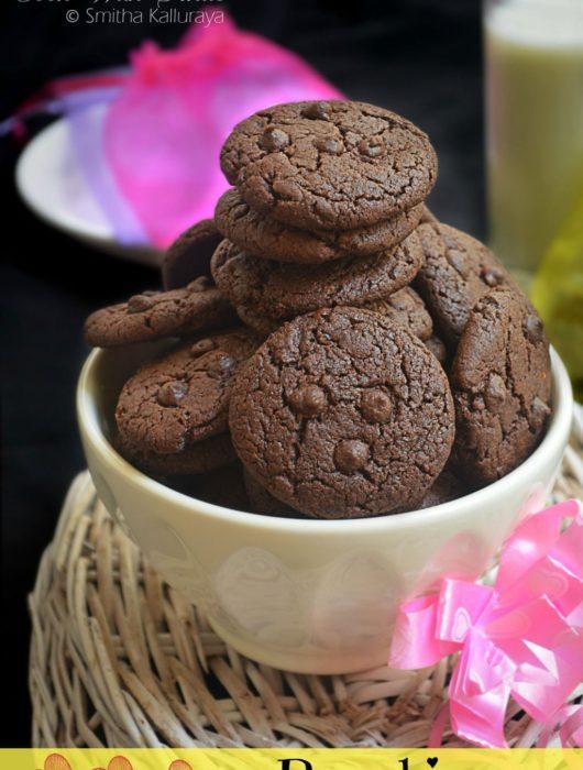 eggless brookies recipe,brookies recipe,eggless brookies