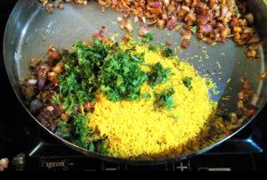 Sev Paratha stuffing recipe