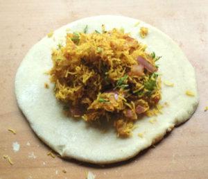 Sev paratha recipe