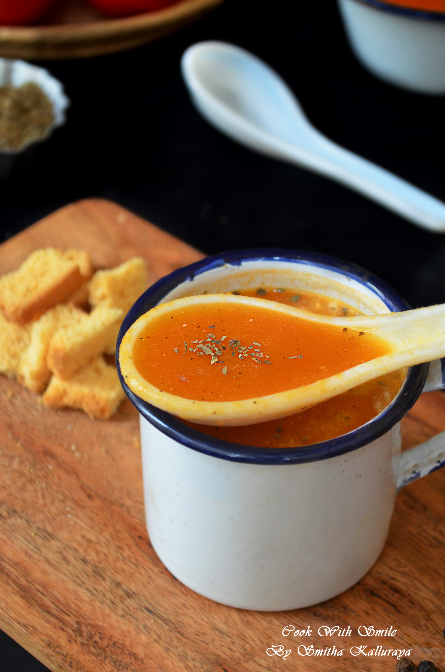 RESTAURANT STYLE TOMATO SOUP RECIPE