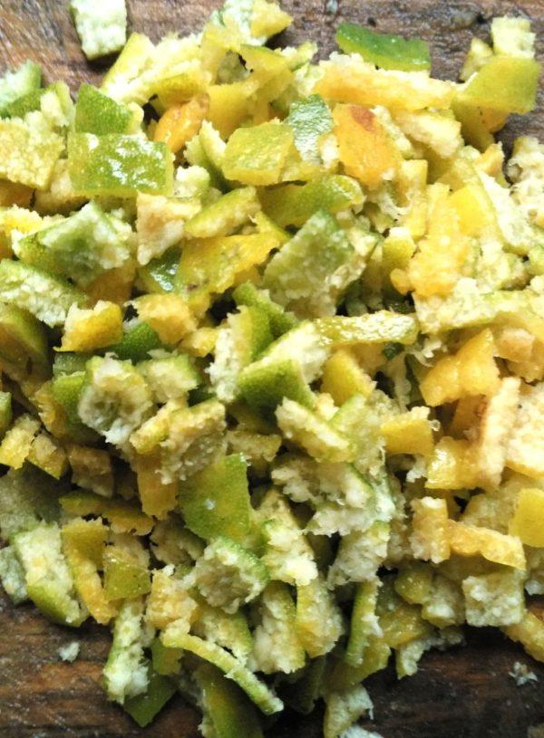 Orange peel gojju recipe