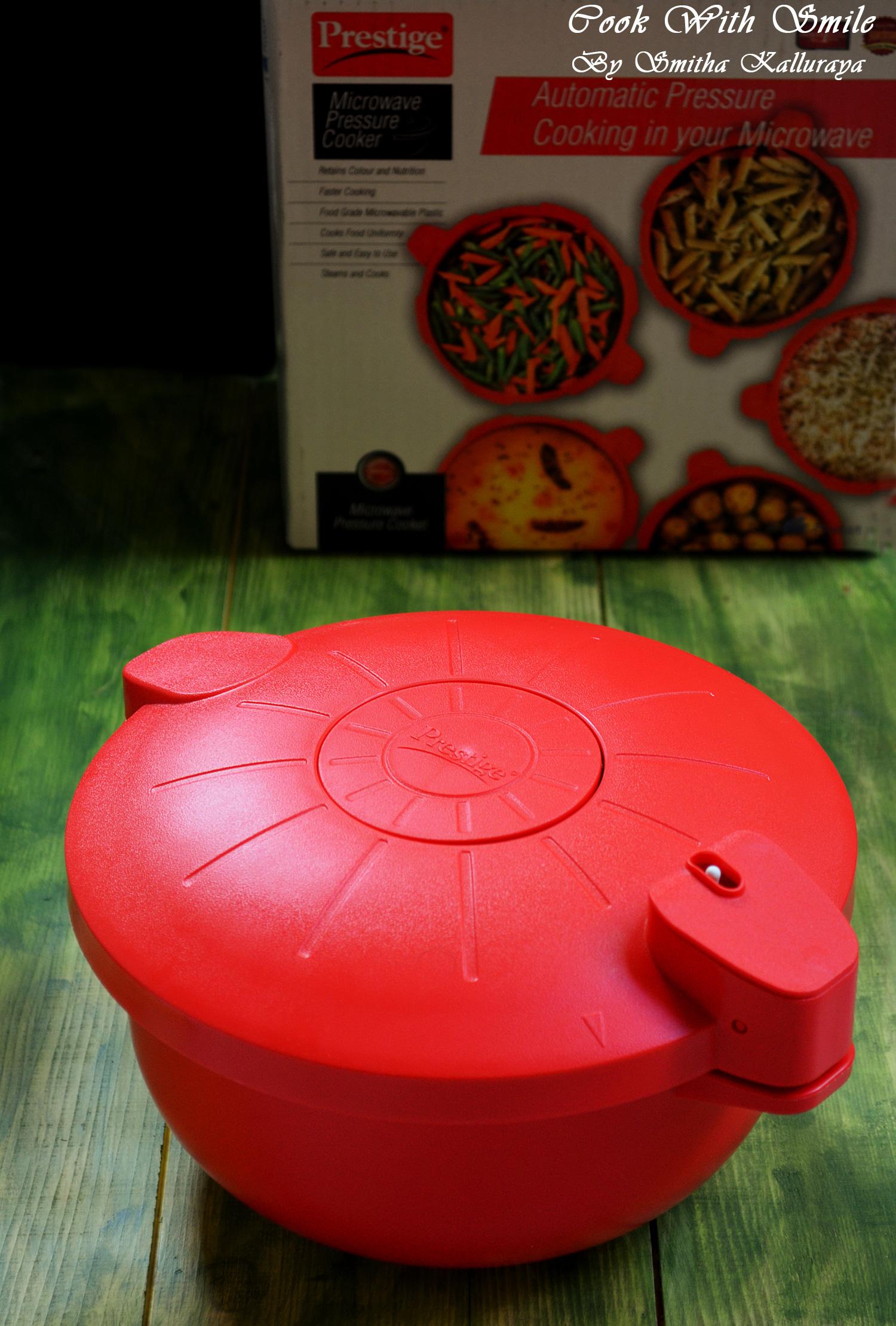 TTK Prestige microwave pressure cooker