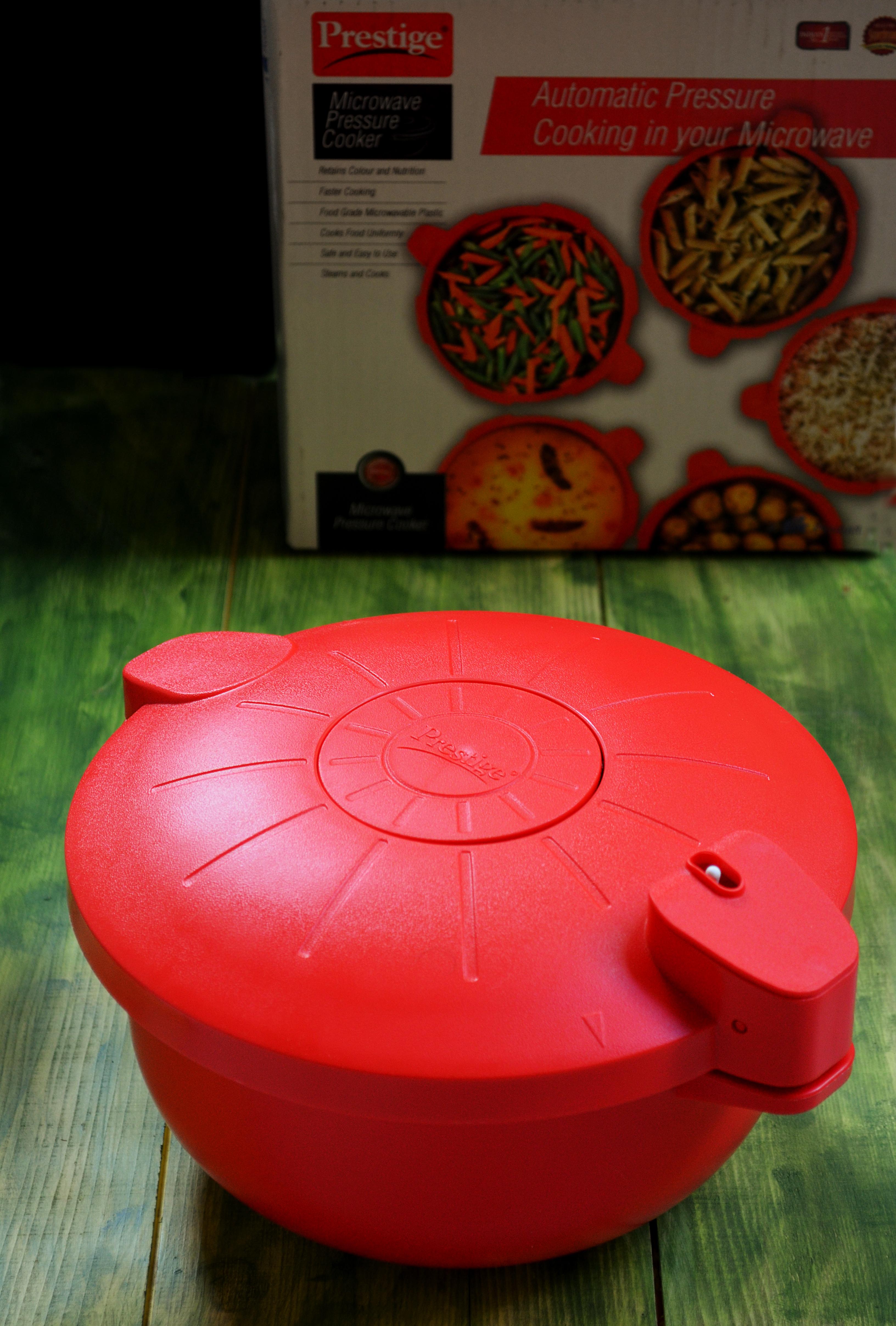 prestige microwave pressure cooker