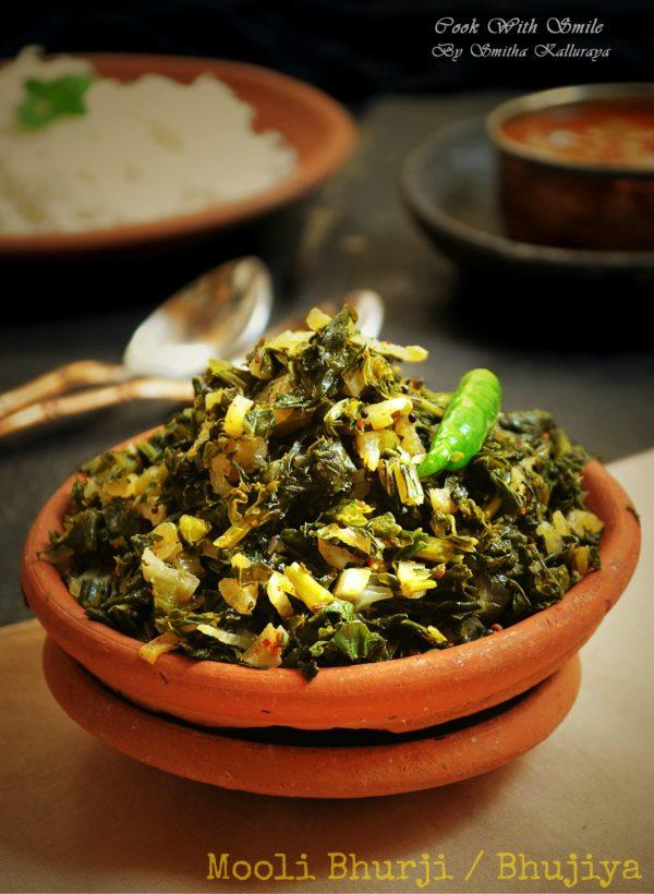 Mooli bhurji