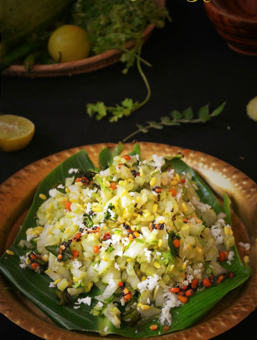 cucumber kosambari recipr