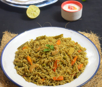pudina pulao recipe