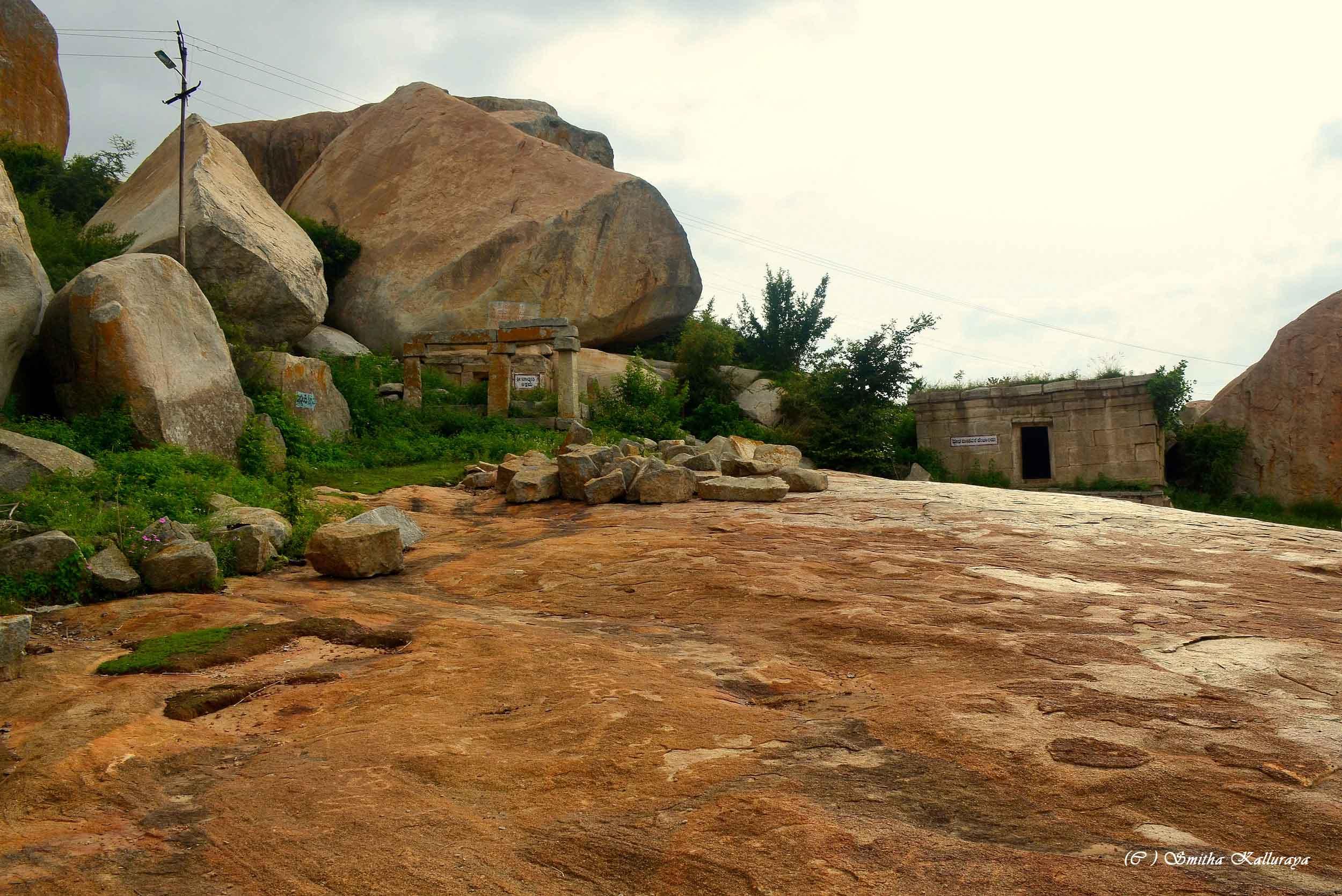 Midst of Avani hills ... Valmiki Ashram area ....
