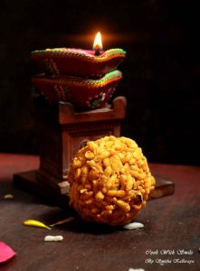 puffed rice laddu