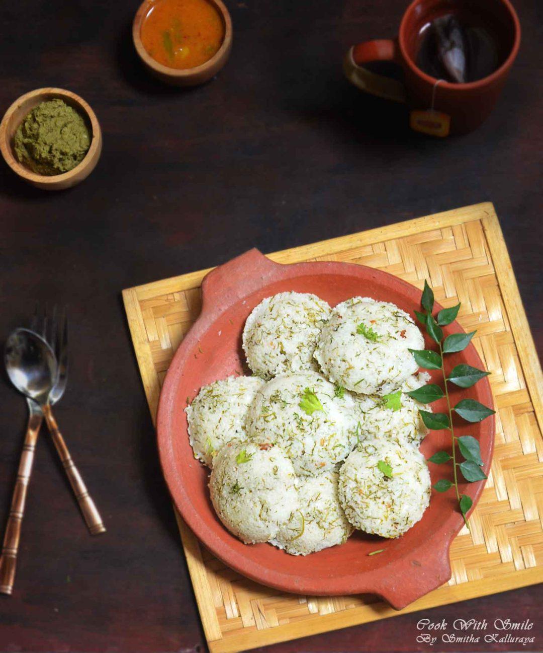 dill leaves idli recipe