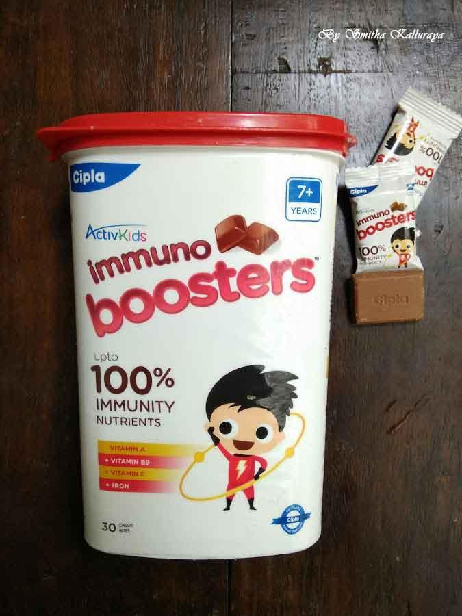 Activkids immuno boosters