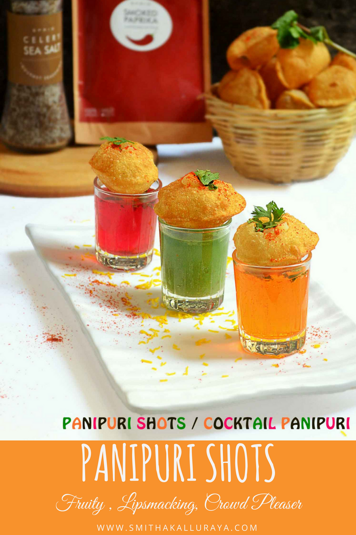 cocktail pani puri