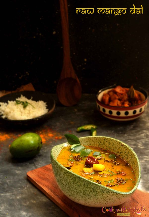 RAW MANGO DAL RECIPE