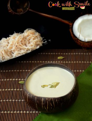 sweet coconut milk recipe